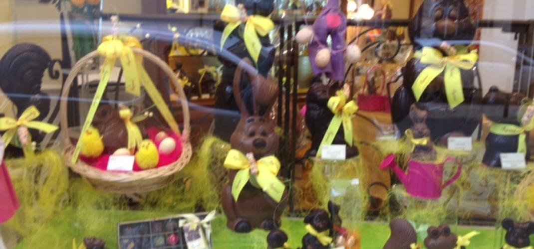 HAPPY EASTER: VIVE LE CHOCOLAT