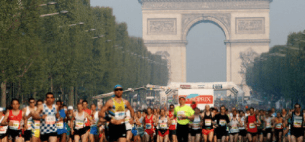 THE MARATHON OF PARIS 2016