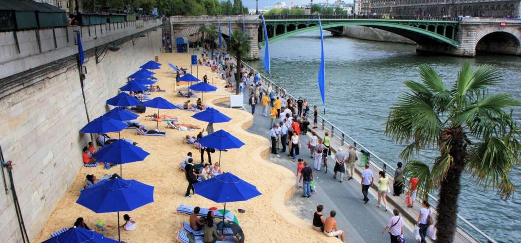 SUMMER AT PARIS PLAGES