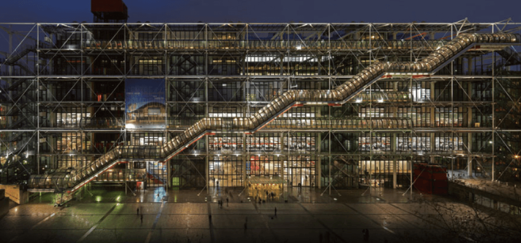 THE POMPIDOU CENTER CELEBRATES ITS 40TH ANNIVERSARY