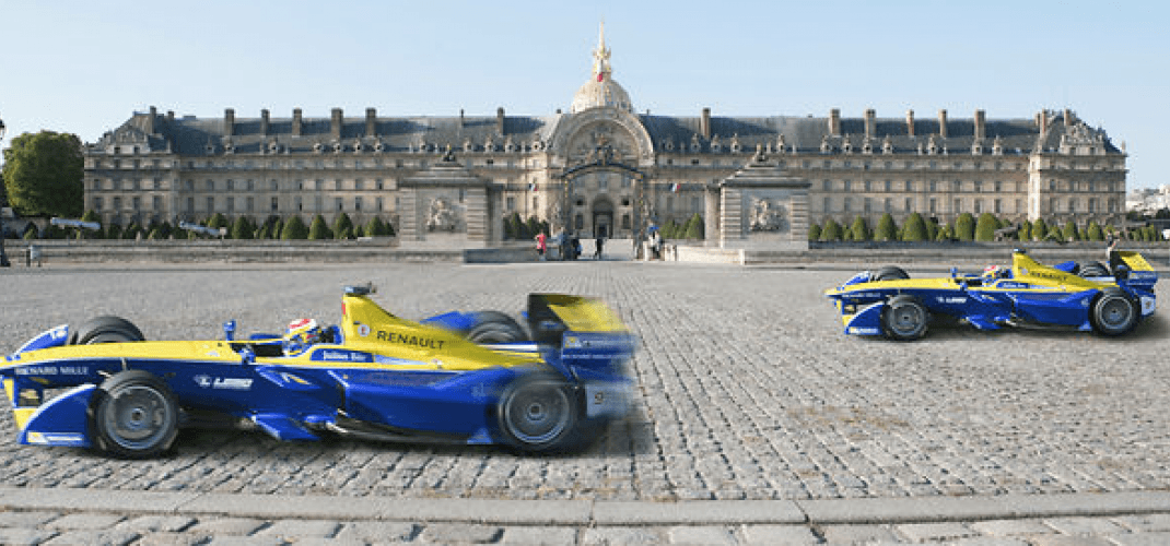 THE FORMULA E 2017 IN PARIS