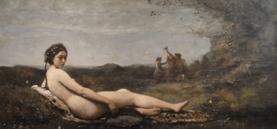Corot, the painter and his models at the Marmottan Museum
