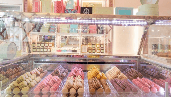 """The Ladurée House opens its new shop in the famous """"RUE CLER"""""""