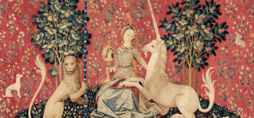 Magical Unicorns, the exhibition at the Cluny Museum