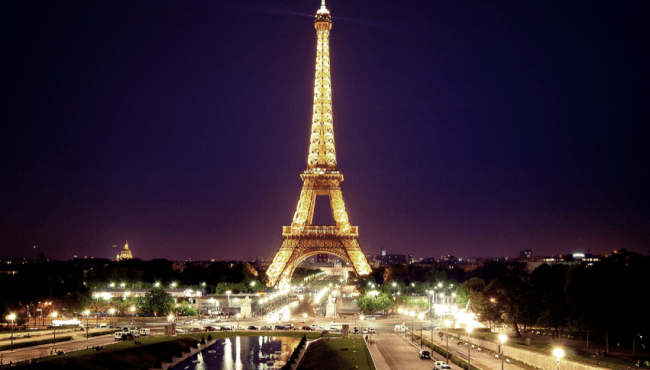 THE EIFFEL TOWER CELEBRATES 130 YEARS