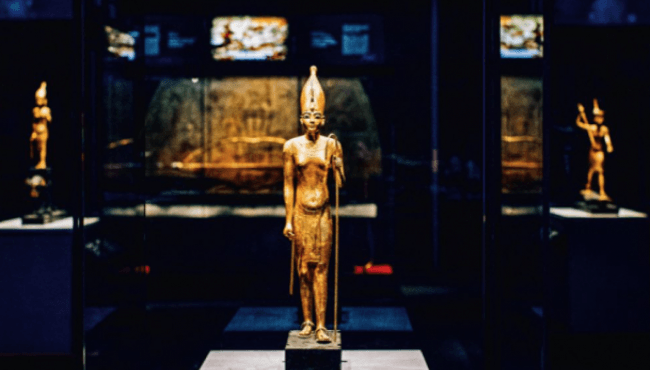 Tutankhamun, treasures of the Golden Pharaoh.