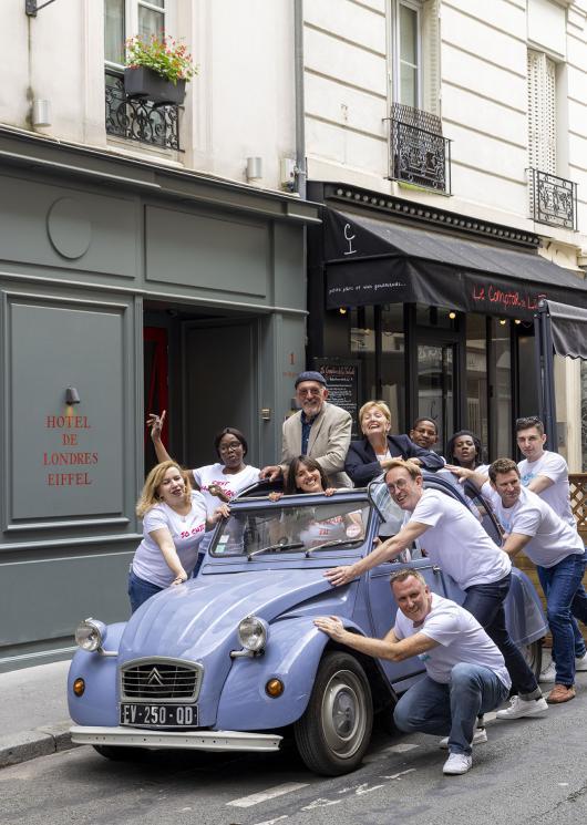 Hôtel de Londres Eiffel - Chambre
